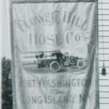 FHHCO original banner (vertical), c. 1909.
