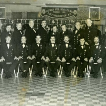 Flower Hill Hose Company Officers, c. 1985