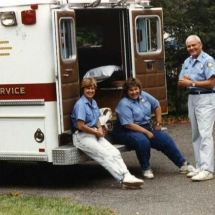 FMCO members take a break, 1991.