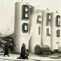 Berg Oil fire 5/3/1940