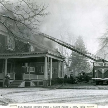F.K. Thayer Estate, Sands Point. December 16, 1949.